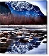 Squamish River Canvas Print