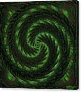 Square Crop Circles Two Canvas Print