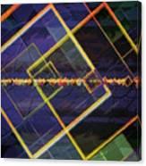 Square Fractals Canvas Print