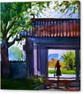Square Gate Canvas Print