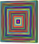 Square Shadings Canvas Print