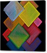 Squared Rainbow Canvas Print