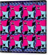 Squares10 Canvas Print