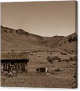 Squaw Butte Homestead Canvas Print