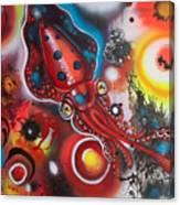 Squink Canvas Print