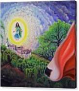 Sri Barsana Vali Canvas Print