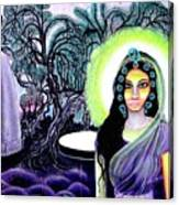Sri Maan Nagari Canvas Print
