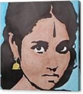 Sri Mata Canvas Print