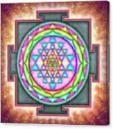 Sri Yantra - Artwork 7.3 Canvas Print