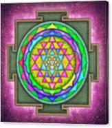 Sri Yantra - Artwork 7.5 Canvas Print