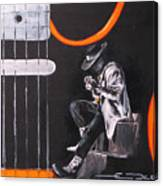 Srv - Stevie Ray Vaughn Canvas Print