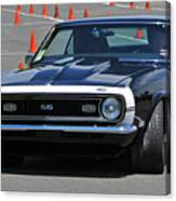 Ss On Autocross Course Canvas Print