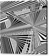 Ssenkcalbot Canvas Print