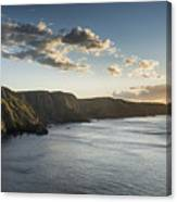 St Abbs Sunset Canvas Print
