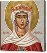 St. Abigail - Jcabi Canvas Print