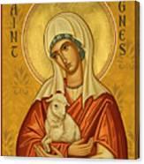 St. Agnes - Jcagn Canvas Print