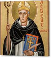 St. Albert The Great - Jcatg Canvas Print