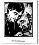St. Aloysius Gonzaga - Jlalg Canvas Print