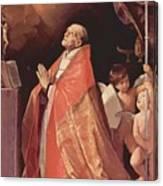 St Andrew Corsini In Prayer 1635 Canvas Print