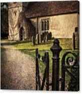 St Andrews At Chaddleworth Berkshire Canvas Print