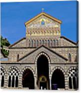 St Andrews Cathedral In Amalfi Canvas Print