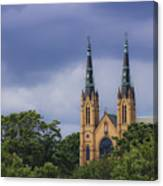 St Andrews Catholic Church Roanoke Virginia Canvas Print