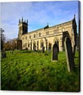 St Andrews Church, Aysgarth Canvas Print
