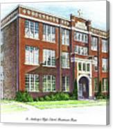 St. Anthony's High School Canvas Print