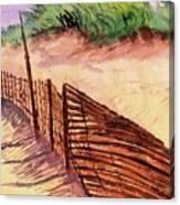 St. Augustine Beach Canvas Print