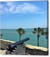 St. Augustine Historical Fort Canvas Print
