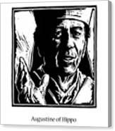 St. Augustine - Jlaug Canvas Print