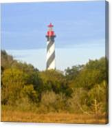 St. Augustine Light House Canvas Print