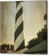 St Augustine Lighthouse Dsc00390_16 Canvas Print