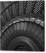 St. Augustine Lighthouse Spiral Staircase I Canvas Print