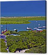 St. Augustine Panoramic Canvas Print