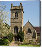St Bartholomew's Church - Moreton Corbet Canvas Print
