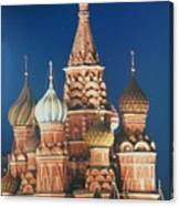 St Basil's By Night Canvas Print