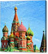 St. Basil's Cathedral Moscow Canvas Print
