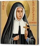 St. Bernadette Of Lourdes - Jcbsl Canvas Print
