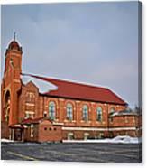 St Bernards Church Canvas Print