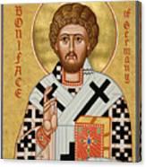 St. Boniface Of Germany - Jcbon Canvas Print