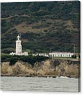 St Catherine's Lighthouse Canvas Print