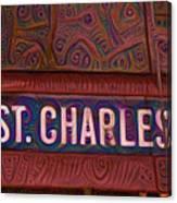 St Charles Line Canvas Print