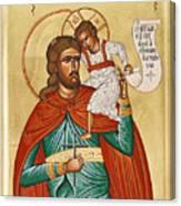 St Christopher Canvas Print