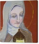 St. Clare Of Assisi II Canvas Print