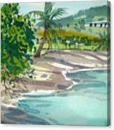St. Croix Beach Canvas Print