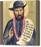 St. Damien The Leper - Rldtl Canvas Print