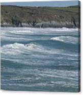 St. Davids Coastline Canvas Print