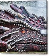 St Davids Day Dragon Canvas Print