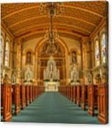 St Edward Interior Canvas Print